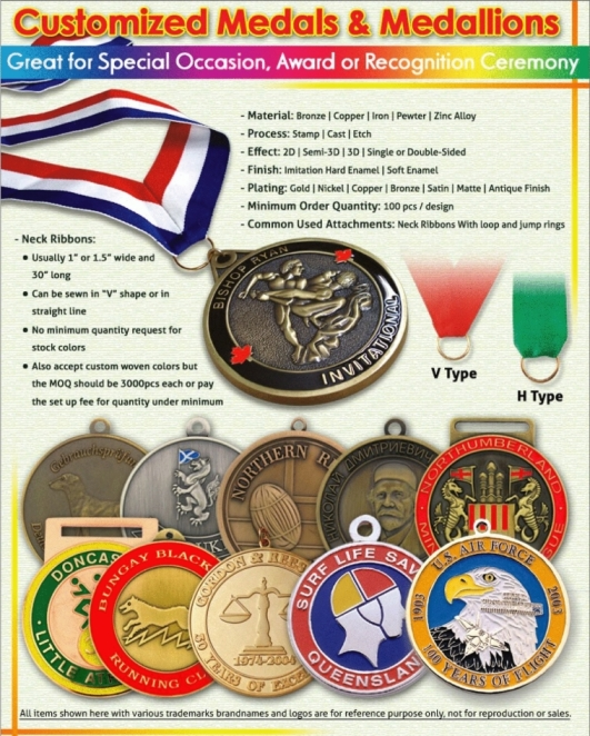 Medals - Your promotional microfibre product supplier